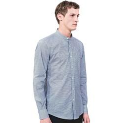 textil Hombre Camisas manga larga Antony Morato MMSL00526 FA430360 Azul