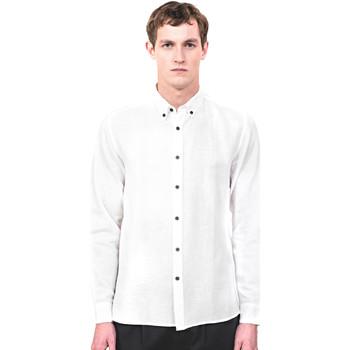 textil Hombre Camisas manga larga Antony Morato MMSL00530 FA400051 Beige