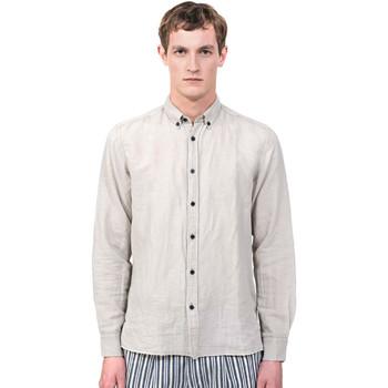 textil Hombre Camisas manga larga Antony Morato MMSL00530 FA400051 Gris
