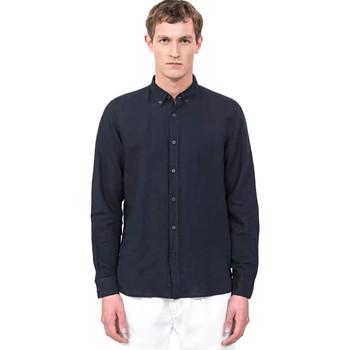 textil Hombre Camisas manga larga Antony Morato MMSL00530 FA400051 Azul