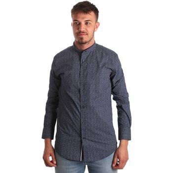 textil Hombre Camisas manga larga Antony Morato MMSL00532 FA430370 Azul