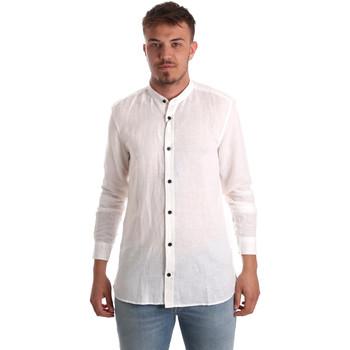 textil Hombre Camisas manga larga Antony Morato MMSL00547 FA400051 Blanco