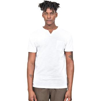 textil Hombre Camisetas manga corta Antony Morato MMKS01487 FA100139 Blanco