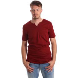 textil Hombre Camisetas manga corta Antony Morato MMKS01487 FA100139 Rojo