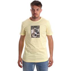 textil Hombre Camisetas manga corta Antony Morato MMKS01551 FA100144 Amarillo
