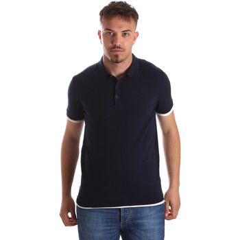 textil Hombre Polos manga corta Gaudi 911FU53006 Azul
