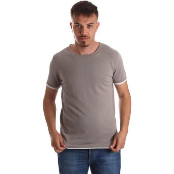 textil Hombre Camisetas manga corta Gaudi 911FU53007 Gris