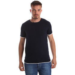textil Hombre Camisetas manga corta Gaudi 911FU53007 Azul