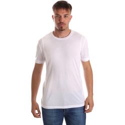 textil Hombre Camisetas manga corta Gaudi 911FU64005 Blanco