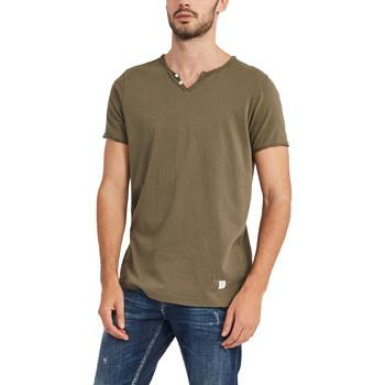 textil Hombre Camisetas manga corta Gaudi 911BU64024 Verde