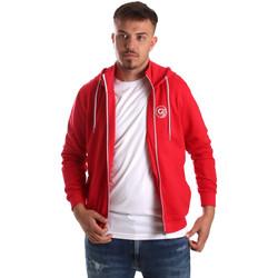 textil Hombre Sudaderas Gaudi 911BU64043 Rojo