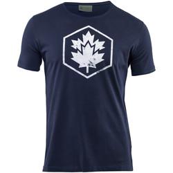 textil Hombre Camisetas manga corta Lumberjack CM60343 002 509 Azul