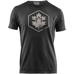 textil Hombre Camisetas manga corta Lumberjack CM60343 002 509 Negro