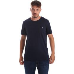 textil Hombre Camisetas manga corta Navigare NV31069 Azul