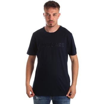 textil Hombre Camisetas manga corta Navigare NV31070 Azul