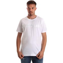 textil Hombre Camisetas manga corta Navigare NV31070 Blanco