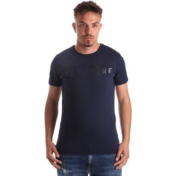 textil Hombre Camisetas manga corta Navigare NV31081 Azul