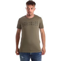 textil Hombre Camisetas manga corta Navigare NV31081 Verde