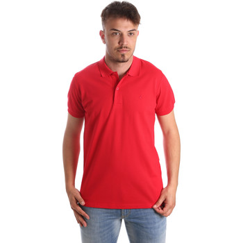 textil Hombre Polos manga corta Navigare NV82001 Rojo
