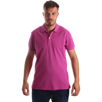textil Hombre Polos manga corta Navigare NV82086 Rosado