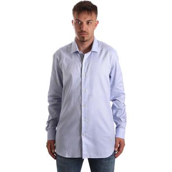 textil Hombre Camisas manga larga Navigare NV90005 FR Azul
