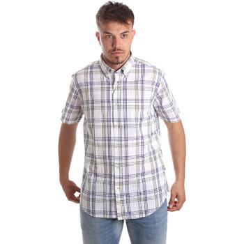 textil Hombre Camisas manga corta Navigare NV91057 BD Azul