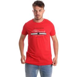 textil Hombre Camisetas manga corta U.S Polo Assn. 51520 51655 Rojo