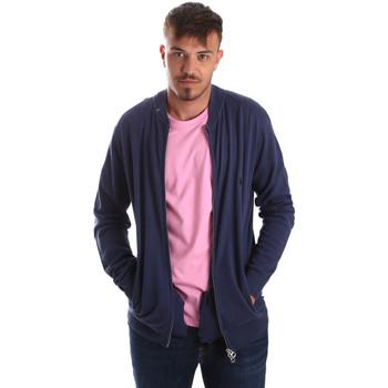 textil Hombre Chaquetas de punto U.S Polo Assn. 51727 51433 Azul