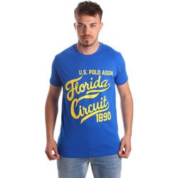 textil Hombre Camisetas manga corta U.S Polo Assn. 49351 51340 Azul