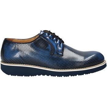 Zapatos Hombre Derbie Exton 5103 Azul