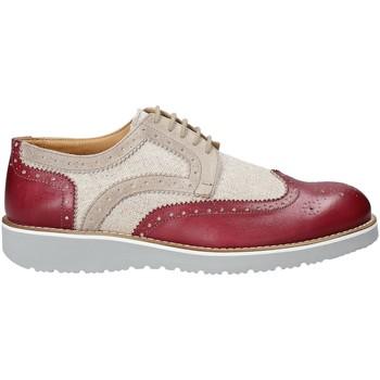 Zapatos Hombre Derbie Exton 5105 Rojo