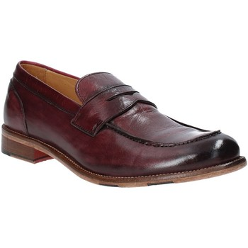Zapatos Hombre Mocasín Exton 3106 Rojo