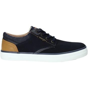 Zapatos Hombre Zapatillas bajas Wrangler WM91121A Azul