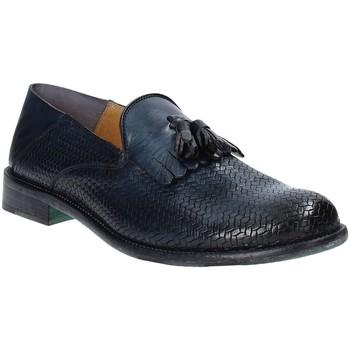 Zapatos Hombre Mocasín Exton 3105 Azul