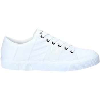 Zapatos Hombre Deportivas Moda Byblos Blu 2MA0003 LE9999 Blanco