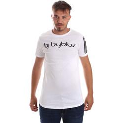 textil Hombre Camisetas manga corta Byblos Blu 2MT0016 TE0046 Blanco
