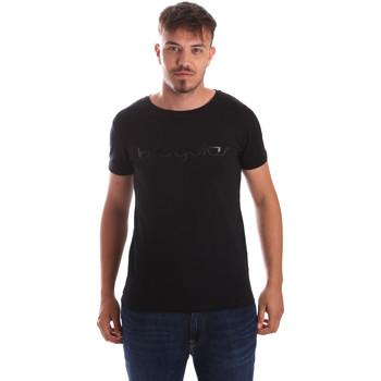 textil Hombre Camisetas manga corta Byblos Blu 2MT0023 TE0048 Negro