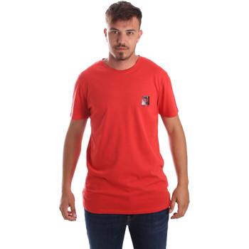 textil Hombre Camisetas manga corta Byblos Blu 2MT0010 TE0045 Rojo