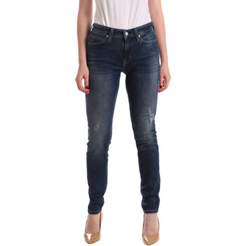 textil Mujer Vaqueros boyfriend Calvin Klein Jeans J20J209427 Azul