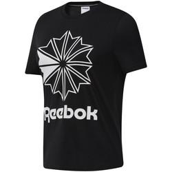 textil Mujer Camisetas manga corta Reebok Sport DT7219 Negro