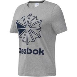 textil Mujer Camisetas manga corta Reebok Sport DT7221 Gris