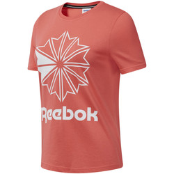 textil Mujer Camisetas manga corta Reebok Sport DT7223 Rosado