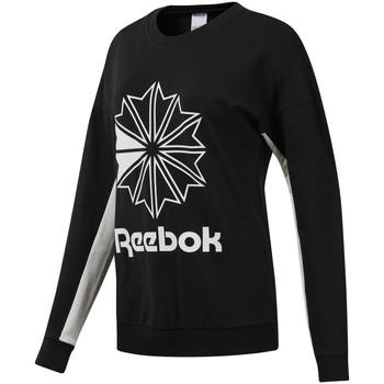 textil Mujer Sudaderas Reebok Sport DT7241 Negro