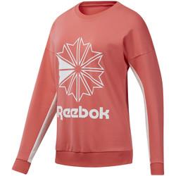textil Mujer Sudaderas Reebok Sport DT7245 Rosado
