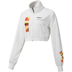 textil Mujer cazadoras Reebok Sport DY9376 Blanco