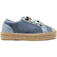 Zapatos Mujer Zapatillas bajas Gold&gold A19 GT813 Azul