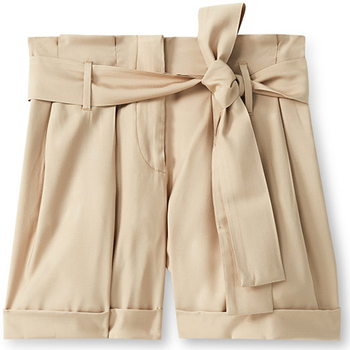 textil Mujer Shorts / Bermudas Liu Jo F19231T2311 Beige