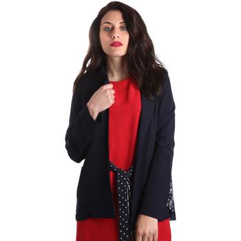 textil Mujer Chaquetas / Americana Fracomina FR19SP006 Azul