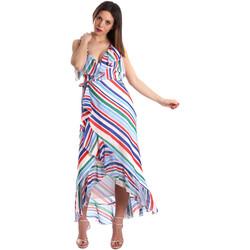 textil Mujer Vestidos largos Fracomina FR19SP594 Blanco