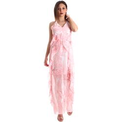 textil Mujer Vestidos largos Fracomina FR19SP429 Rosado